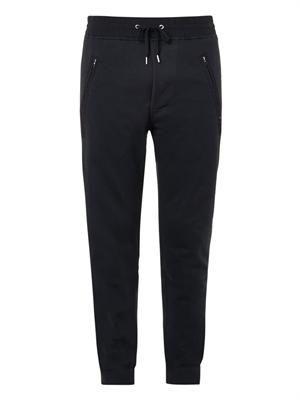 Johna stretch-cotton track pants