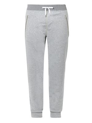Johna stretch-cotton track pants