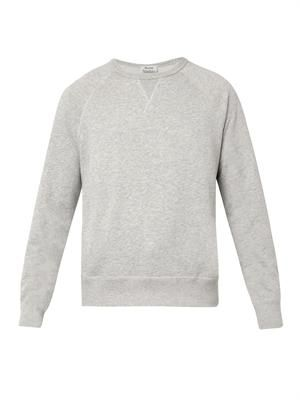 College crew-neck sweatshirt