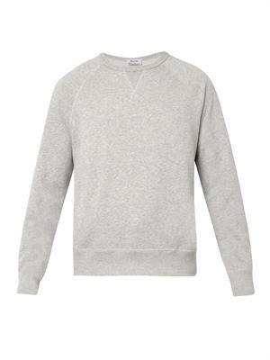 College crew-neck sweatshirt