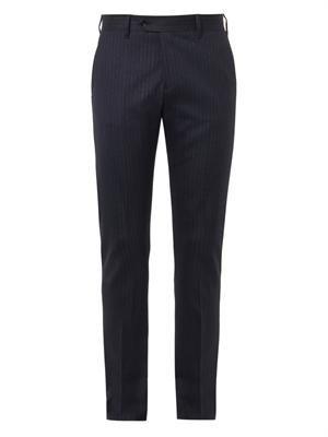Drifter pinstripe trousers