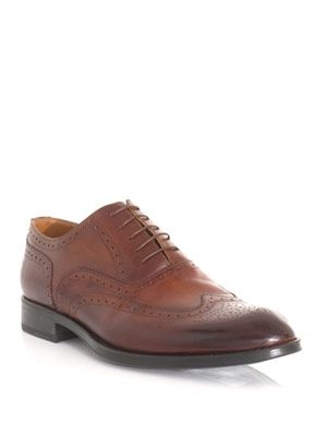 Aston gold box brogues