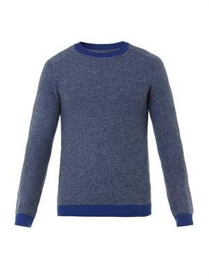 Links wool and cashmere-blend sweater