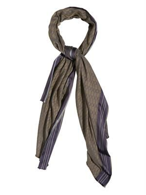 Silk and cashmere-blend scarf