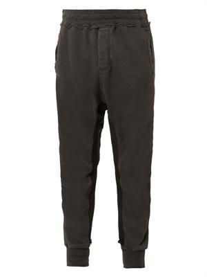 Perth dropped-crotch trousers