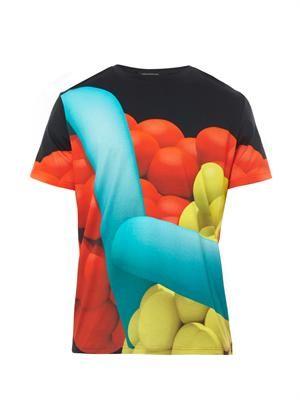 Helix Clash-print T-shirt