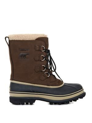 Caribou™ suede and rubber boots