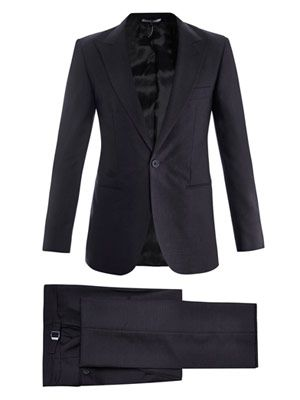 W1 classic single-breasted suit