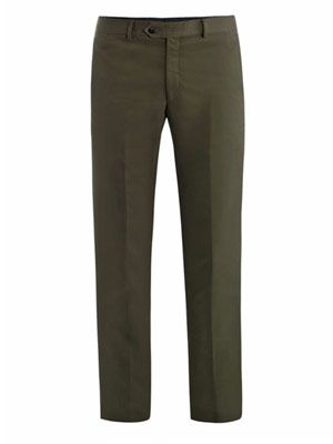 West cotton chino trousers