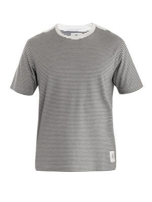 Grosgrain shoulder stripe T-shirt