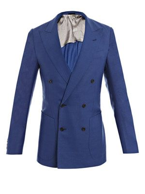 Unstructured basket-weave jacket