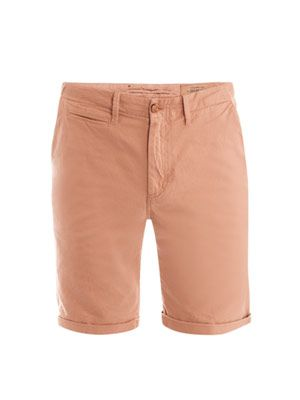 Drill cotton shorts