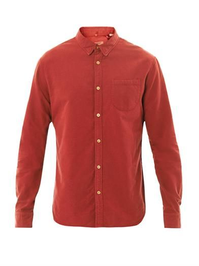 Levi's Made & Crafted One pocket cotton shirt