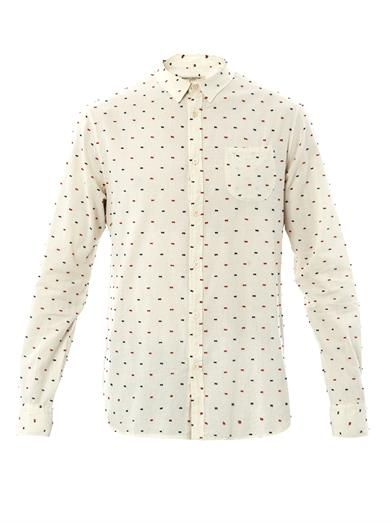 Levi's Made & Crafted Embroidered dot shirt
