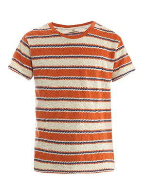 Zigzag stripe T-shirt