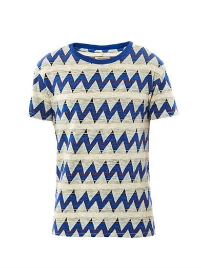 Levi's Made & Crafted Zigzag-print T-shirt