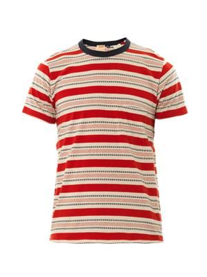 1960s striped T-shirt