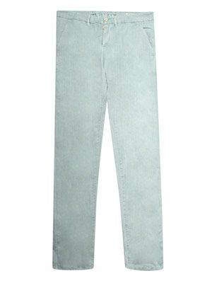 Drill chino trousers