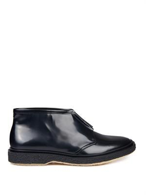 Type 3 zip-up chelsea boots