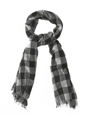 Staffa cashmere and silk-blend scarf
