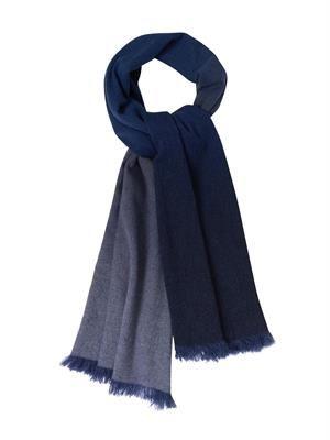 Nuance ombré cashmere scarf