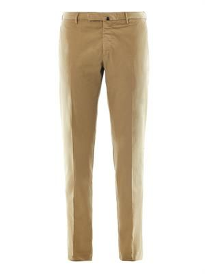 Lightweight cotton chinos