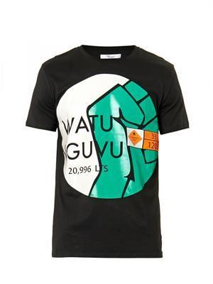 Watu Nguvu-print T-shirt