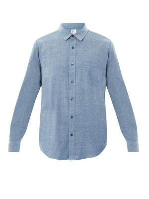 Mix chambray shirt