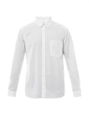 City Prevent chest-pocket shirt