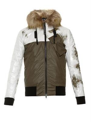 Remade bomber jacket