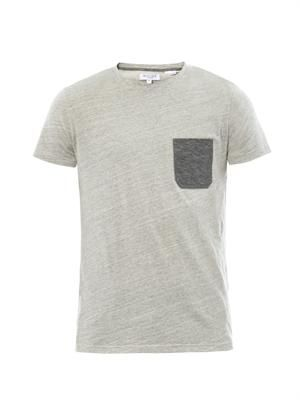 Gale crew-neck cotton T-shirt