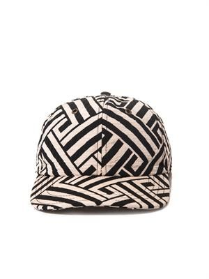 Jacquard baseball hat