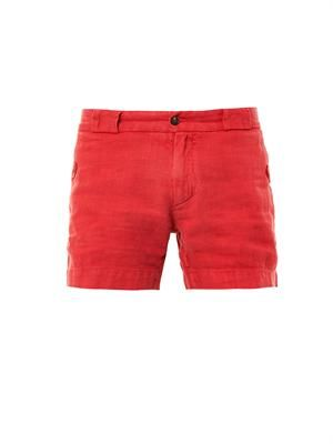 Hickery linen shorts