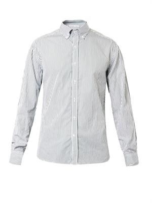 Bengal-striped cotton shirt
