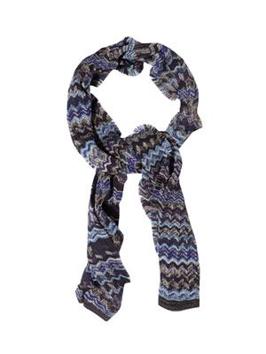 Iconic wool scarf