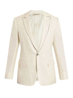 Wool unstructured jacket