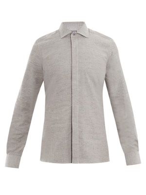 Donegal button-down shirt