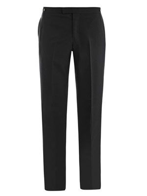 Dax-top wool trousers