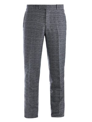 Vintage check trousers