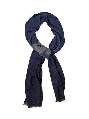 Tie-dye cashmere and silk-blend scarf