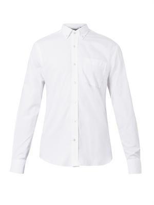 Button-down-collar shirt
