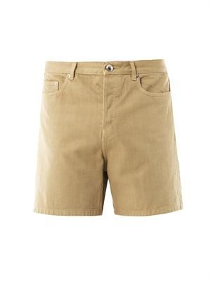 5 pocket denim shorts