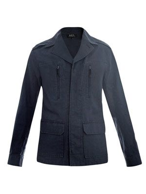 Canvas 4 pocket jacket