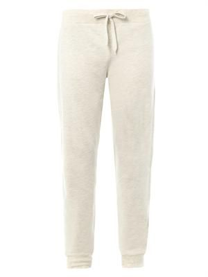 Cotton-blend sweatpants