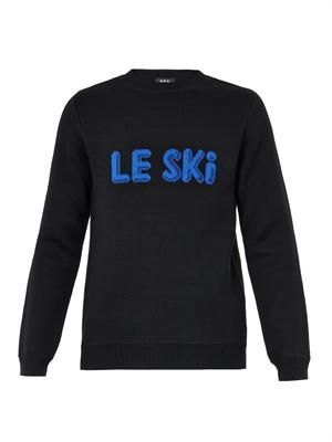 Le Ski wool sweater