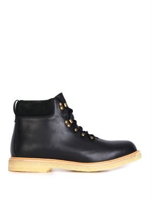 Alaska leather walking boots