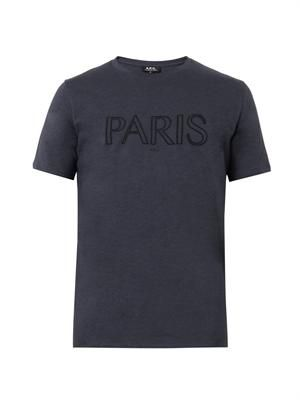 Paris cotton T-shirt