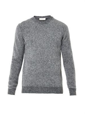 Shetland wool-blend sweater