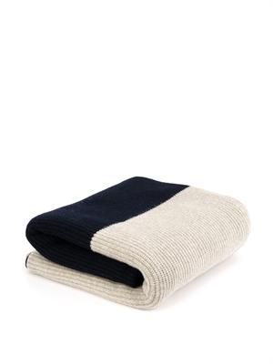 Eden cashmere throw