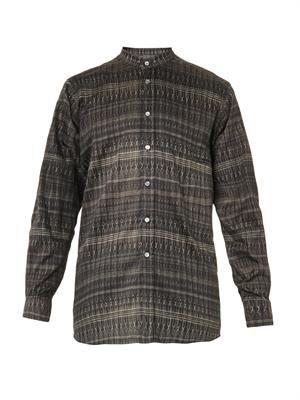 African-print cotton shirt